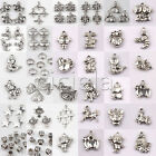 Wholesale Bulk Beads Charms Lots Tibetan Silver Pendant Jewelry Chain Crafts DIY