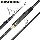 KastKing BlackHawk II 24 Ton Carbon Fiber Casting  Spinning Travel Fishing Rod