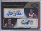 DOMINIQUE WILKINS VINCE CARTER 2008-09 TOPPS CO-SIGNERS DUAL AUTO 3 5