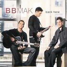 Back Here Miss You More Single by BBMak CD