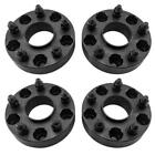 4X 15 Black Wheel Spacers Adapters 5x5 for Jeep Wrangler JK Hub Centric 5 Lug