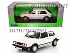 WELLY 18039 1983 83 VW VOLKSWAGEN GOLF 1 GTI 1 18 DIECAST MODEL CAR WHITE