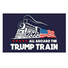 All Aboard The TRUMP TRAIN 2020 Donald President Car Window Bumper Sticker Decal