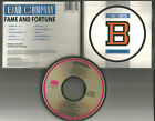 Brian Howe BAD COMPANY Fame and Fortune DISC MADE IN JAPAN CD 1986 USA Seller
