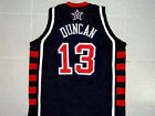 TIM DUNCAN TEAM USA JERSEY BLUE NEW ANY SIZE