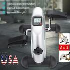 Portable Hand Foot Pedal Trainer Exerciser Mini Exercise Bicycle for Gym Indoor