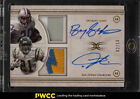 2015 Topps Definitive Collection Barry Sanders Tomlinson AUTO PATCH 10 (PWCC)