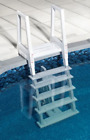 Heavy Duty Pool Ladder Above Ground In 6 Steps Deck Solid Safety 48 to 54