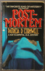 Signed by Patricia Cornwell POST MORTEM Kay Scarpetta Avon 1991 First Ed Thus
