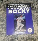 Larry Walker Rookie Cards Checklist and Autographed Memorabilia Guide 19