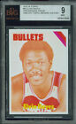 1975-76 TOPPS # 60 ELVIN HAYES PROOF BGS 9 SOLO FINEST UNIQUE 6698 *