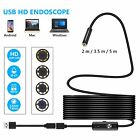 2m 3.5m 5m Android Endoscope Waterproof Snake Borescope Usb Inspection Camera