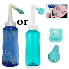 300ml Nasal Nose Wash Rinsing System Neti Pot Sinus Irrigation Bottle Wash Tool