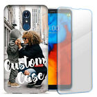 Personalized Custom Photo Image Case Cover For LG Phone w Glass Screen Protector