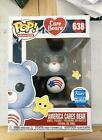 Funko Pop! Vinyl Care Bears America Cares Bear Funko Shop Exclusive IN HAND