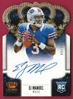 EJ Manuel Signs Exclusive Autographed Memorabilia Deal with Panini Authentic 21