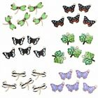 10Pcs Charms Animal Butterfly Dragonfly Pendant Women Gift Jewelry Accessories