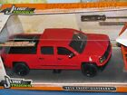 1 24 JADA JUST TRUCKS 2014 CHEVY SILVERADO RED 4 X EXTRA WHEEL DIECAST BRAND NEW