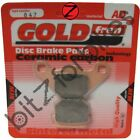 Brake Pads Goldfren Front Right Adly Silver Fox 100 2000-2006