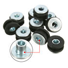 10X Motorcycle Rubber Grommets Bolt Kit For Kawasaki Yamaha Suzuki Honda Fairing