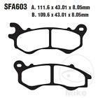 EBC SFA Scooter Front Brake Pads SFA603 Peugeot Speedfight 125 4 R-Cup SBC 2018