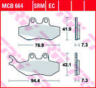 TRW Organic Front Brake Pads MCB664 Generic Trigger 50 X Competition 2008-2012