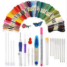 Embroidery Punch DIY Set Plastic Needle Pen Magic Sewing Tools Needles FM