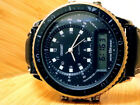 LOT-E3 VINTAGE 5-ATM CONSORT (DUAL-TIME) TACHYMETER MILITARY COMPASS MENS WATCH