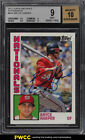 2012 Topps Archives Bryce Harper SP ROOKIE RC AUTO #BHA BGS 9 MINT (PWCC)