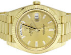 Rolex 18K Yellow Gold Day-Date II 228238 President 40MM Factory Dial Watch