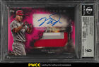 2018 Topps Inception Magenta Mike Trout AUTO PATCH 75 BGS 9 MINT (PWCC)