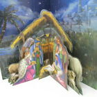 Nativity Advent Calendar 3 Dimensional New Christmas Pop Up Manger Plan ahead