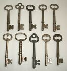 Antique Skeleton Key Lot Door Lock Vintage 2 5 8 to 3 Long