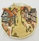 David Winter Cottages - Collectors Guild Piece - Street Scene Wall Hanging Plate