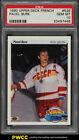 1990 Upper Deck Young Guns French Pavel Bure ROOKIE RC #526 PSA 10 GEM MT (PWCC)