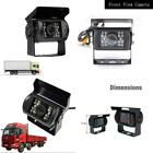 12 24V Front View Camera for Truck Car Camper Motorhome Free 30FT Video Cable Wa