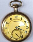 Vintage Burlington Pocket Watch 16 Size 19 Jewels Immaculate Cond Runs Great