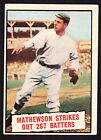 Christy Mathewson Cards and Autograph Guide 10