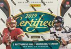 2019 Panini Certified NFL Football Factory Sealed Hobby Box