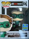 Funko Pop! #836 Big Bang Theory - Leonard as Green Lantern 2019 SDCC Exclusive