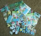 LOT OF 11 BABY BATH  BABYS 1ST STEPS STICKERS  EMBELLISHMENTS