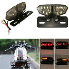 12V Motorcycle Turn Signal Brake License Plate Integrated Tail Light