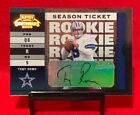 Tony Romo Football Cards, Rookie Cards and Autographed Memorabilia Guide 34