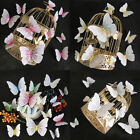 12 pcs 3D Butterfly Wall Stickers Art Decal Home Room Decorations Decor Kids Set