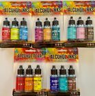 TIM HOLTZ 15 COLOR PACKAGE OF ALCOHOL INKS AND ALCOHOL PEARL INK PACKAGE 1