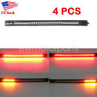 4pcs LED Strips Tail Brake Lights For Harley Davidson Street Glide FLHX Touring