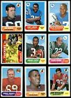1968 Topps Football Cards 5
