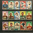 1955 Bowman Football 142 Different Cards (89% of Set) Mixed Condition Sku#380
