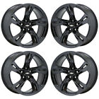 20x85 20x95 Camaro SS Black Chrome wheels rims Factory OEM 2019 2020 set 5874