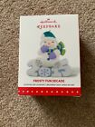 HALLMARK FROSTY FUN DECADE 2015 CHRISTMAS KEEPSAKE ORNAMENTS #6 SERIES SNOWMAN